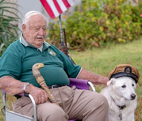 13-Year-Old Dog Spent His Entire Life At Shelter, Until Elderly Veteran Took Him In — Zenoonee